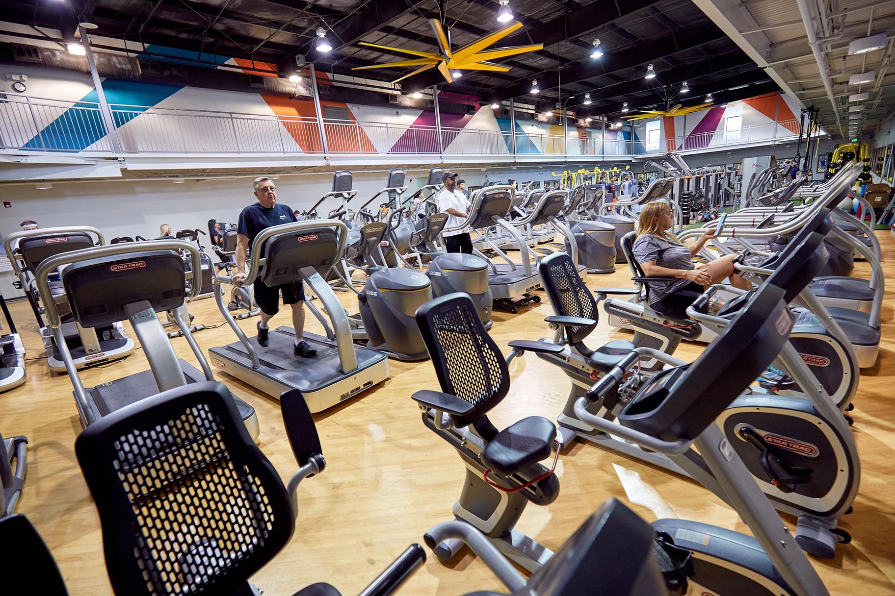 Workout Floor -