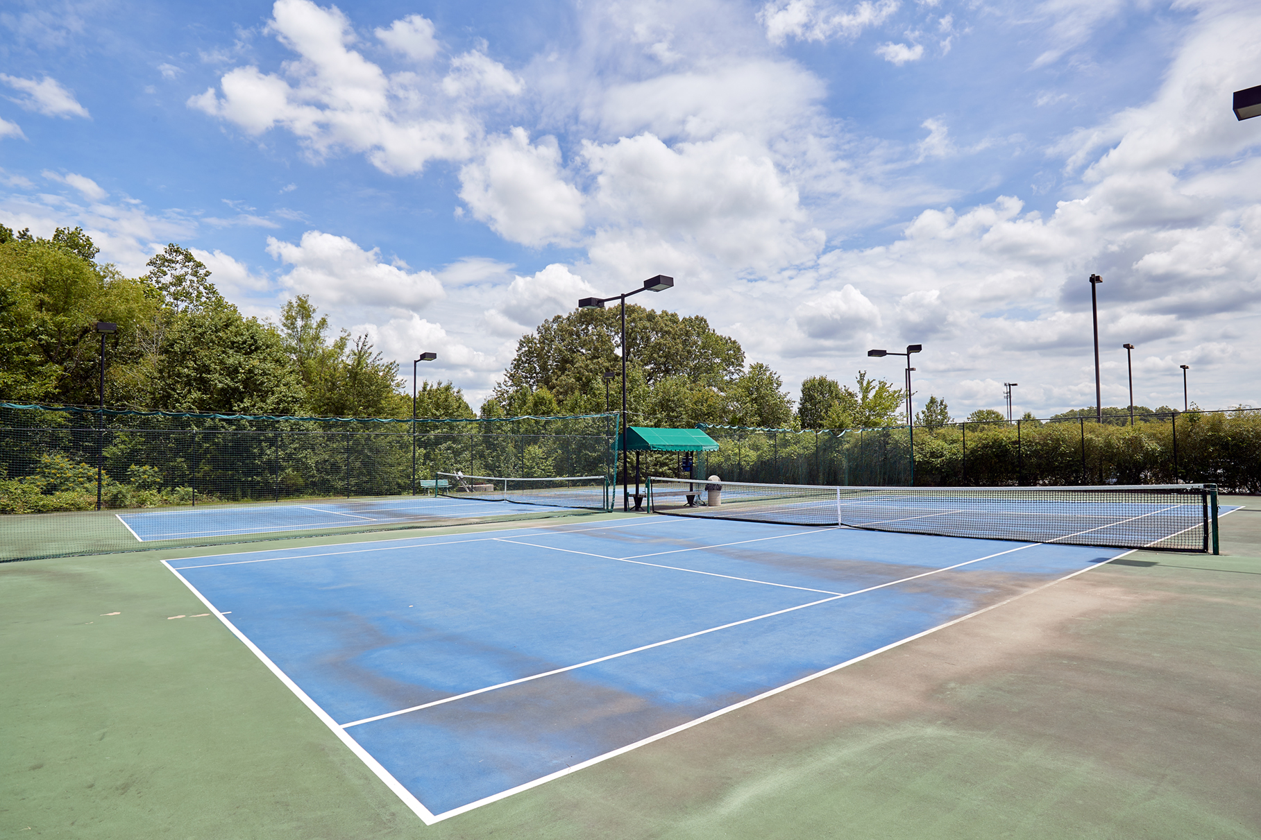Tennis Courts -