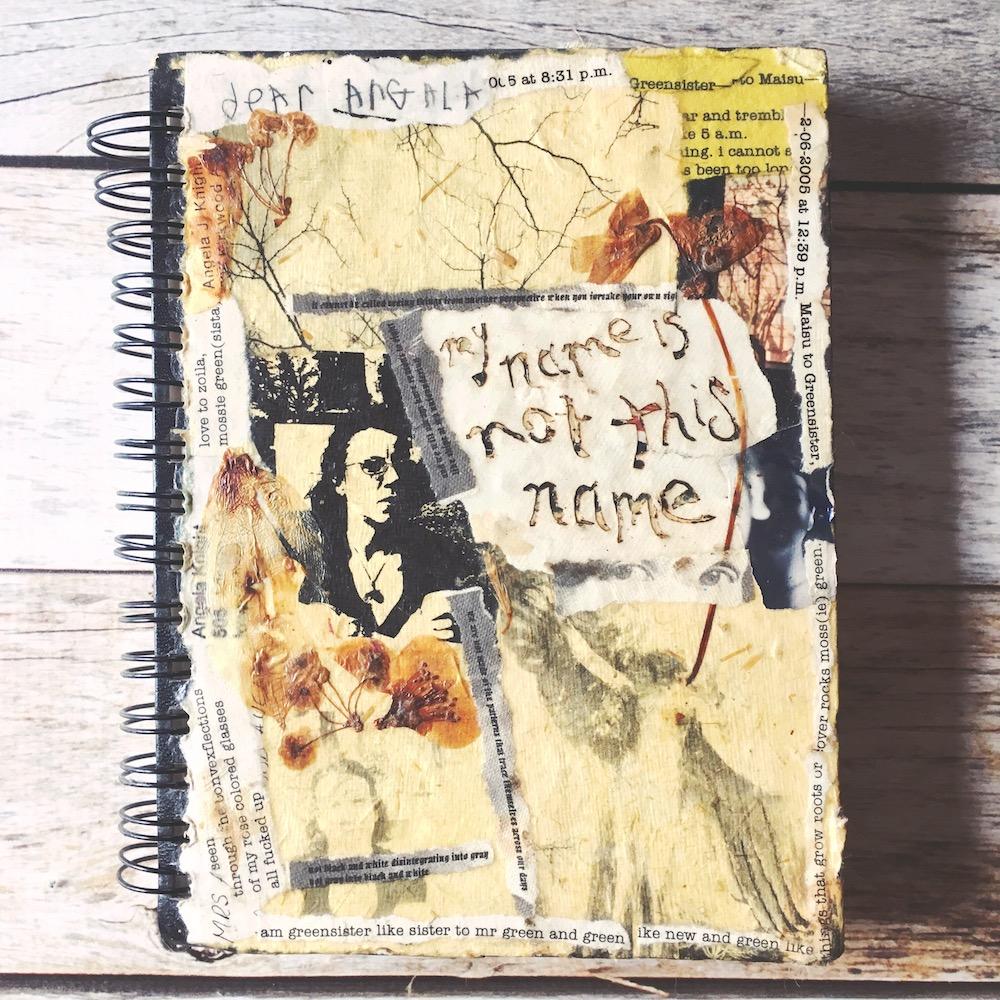 Art journal cover circa 2005.