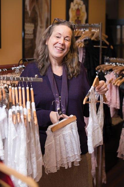 Lisa Ziemer, Owner VaVaVooom Asheville NC