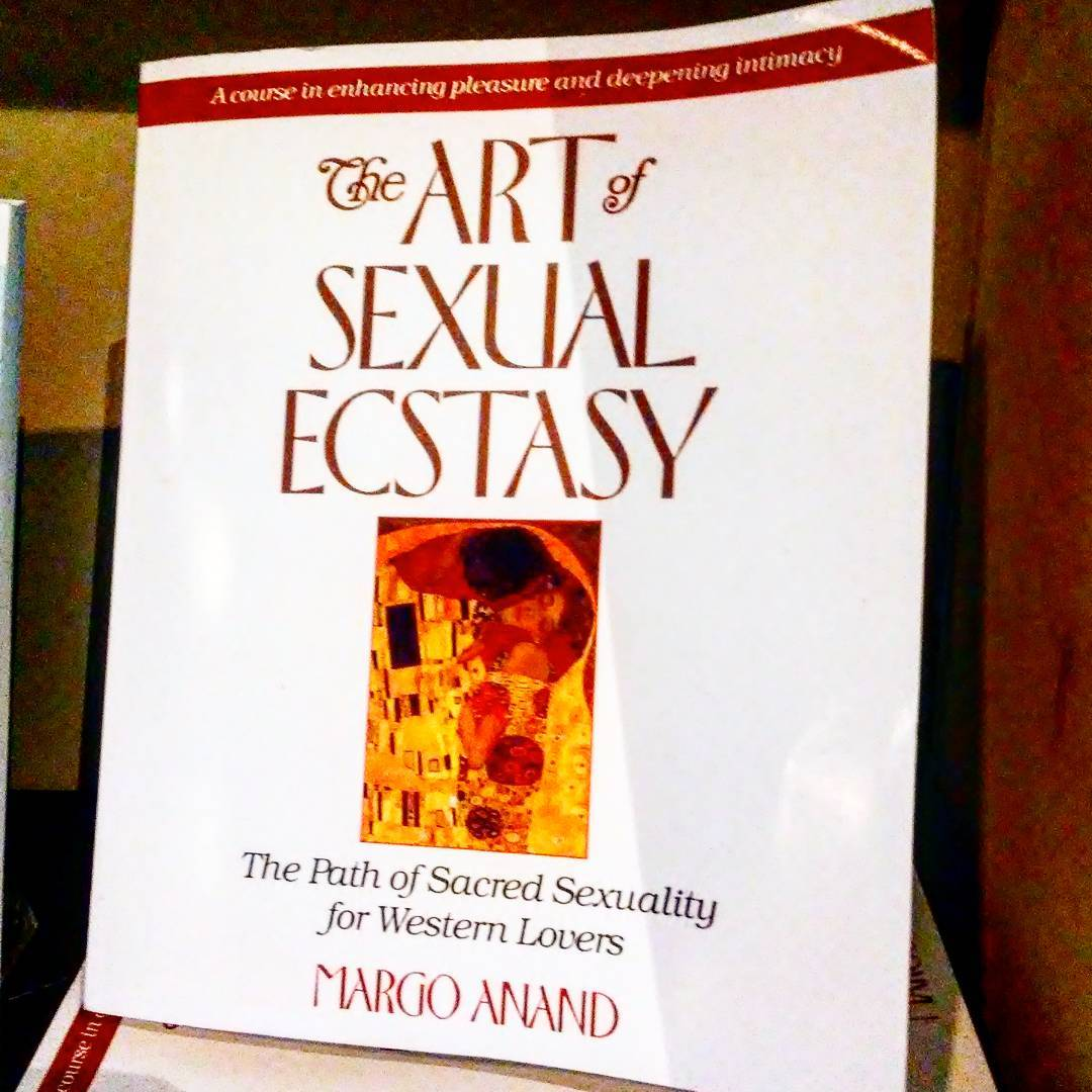 The Art of Sexual Ecstasy by Margo Anand available from VaVaVoom a unique boudoir boutique in Asheville NC