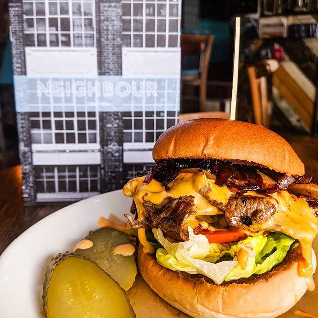 This month's Burger of The Month: The Phili Cheese Steak 🍔 It's too good to miss 👌 . . . #burgers #lunch #foodie #foodlover #loveburgers #burgerporn #burgerme #meatlover #instafood #cheapeats #deal #eeeeeats #londonfood #londonfoodie #yummy #tasty #eats #ktown #nw5 #kentishtown #northlondon #camden #london