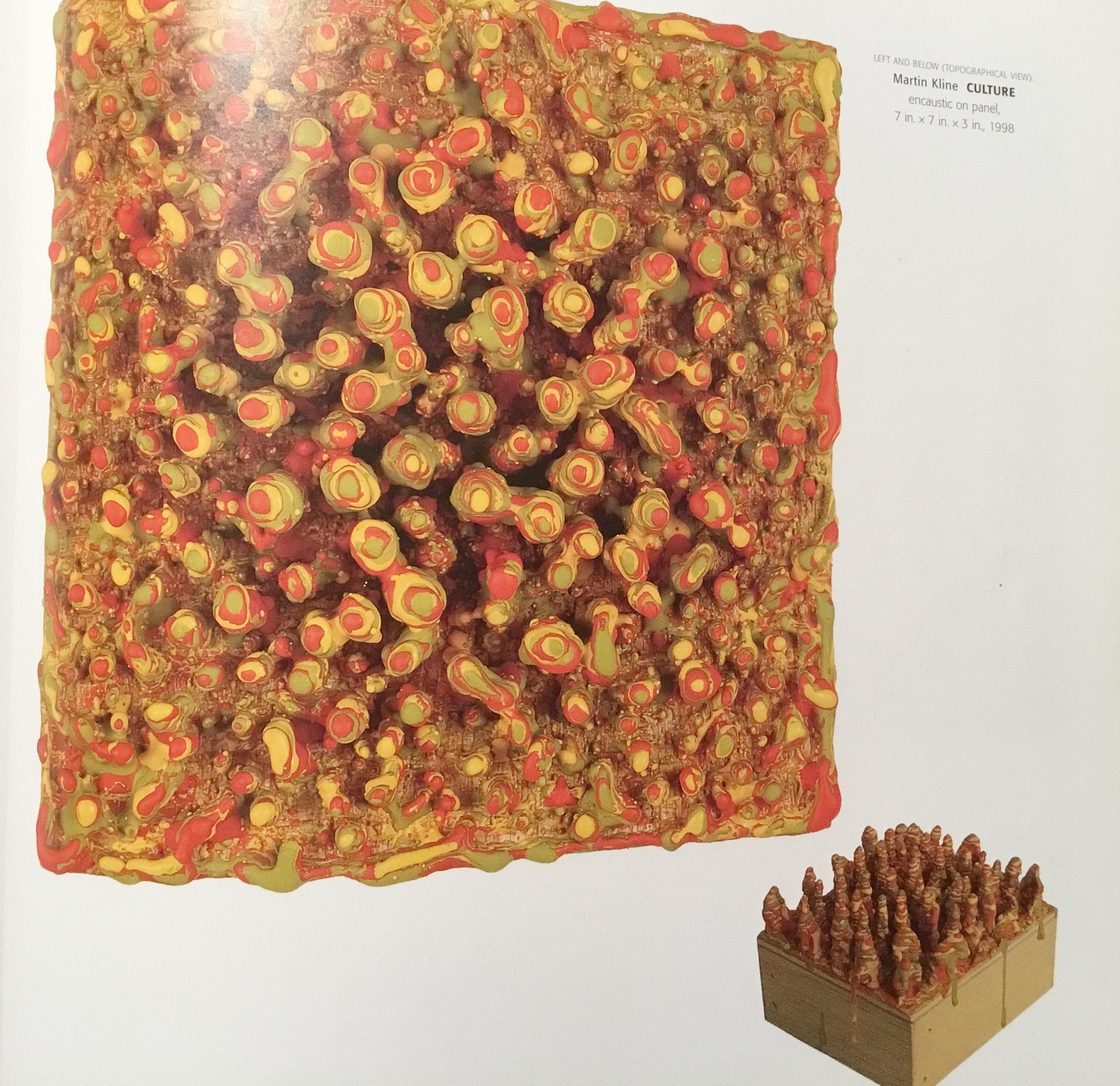 By Martin Kline  encaustic on wood
