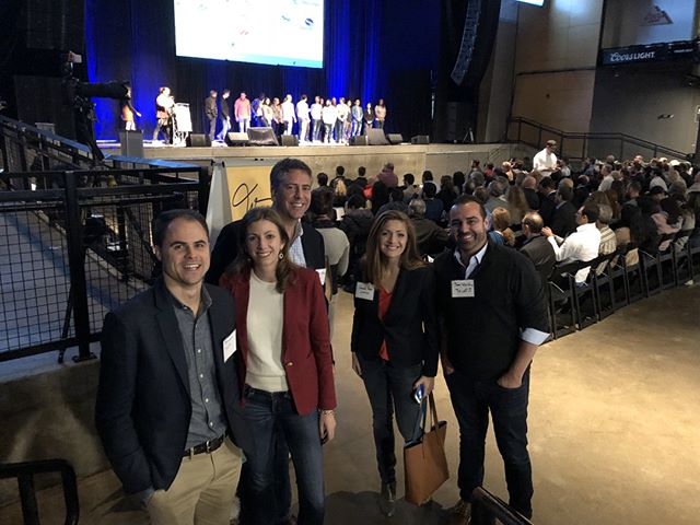 The Truefit team - minds blown at #pghdemoday! Kudos to the AlphaLab and AlphaLab Gear community!