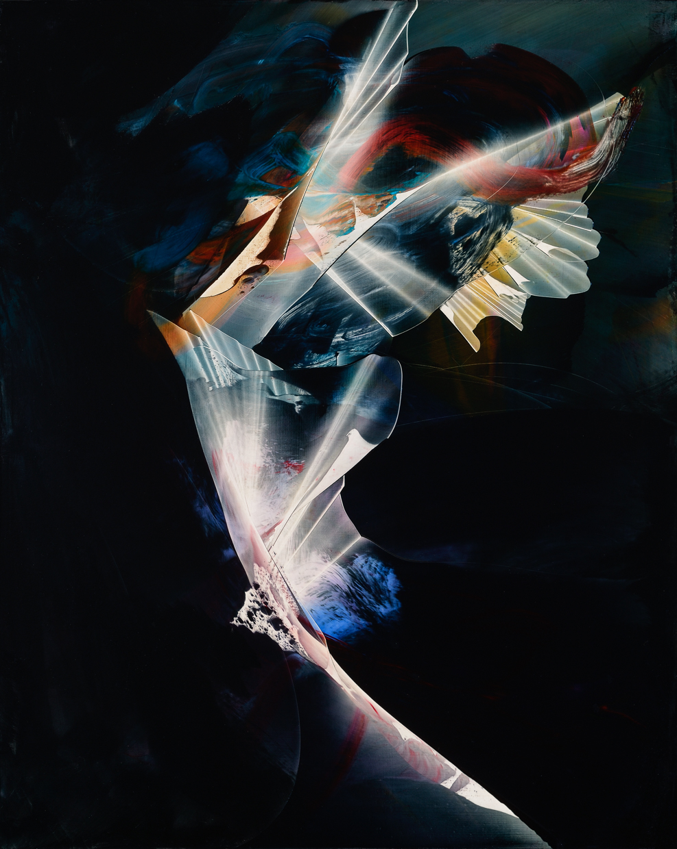 "Medallion, 2015, oil on panel, 20"" x 16"""