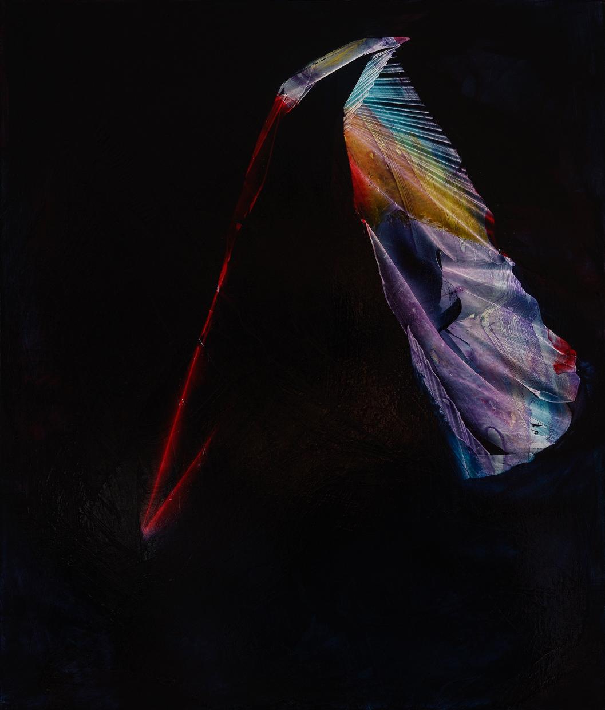 "Rhyme, 2015, oil on panel, 14"" x 12"""