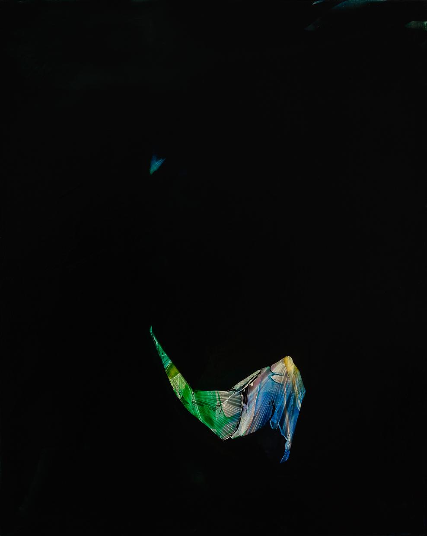"Polaris, 2015, oil on panel, 20"" x 14"""