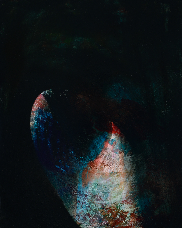 """Seed, 2014, oil on panel, 20"""" x 16"""""""