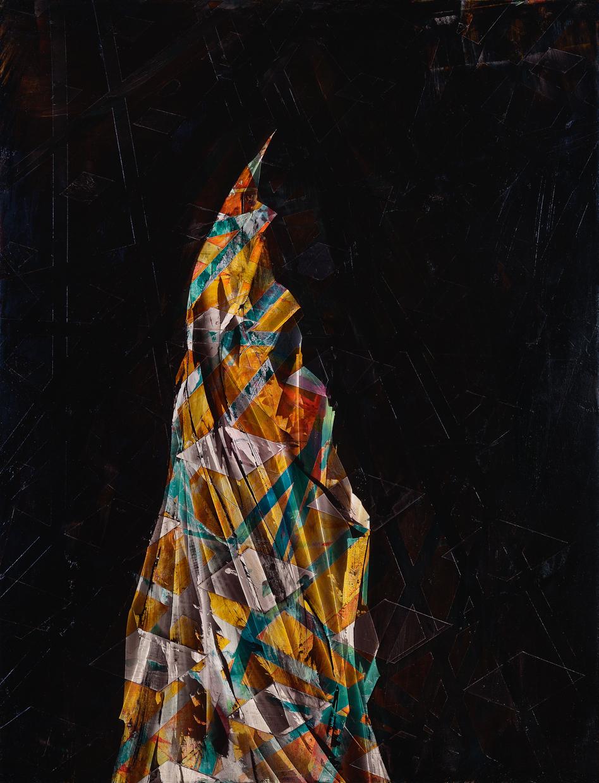 """Unicorn, 2014, oil on panel, 26"""" x 20"""""""