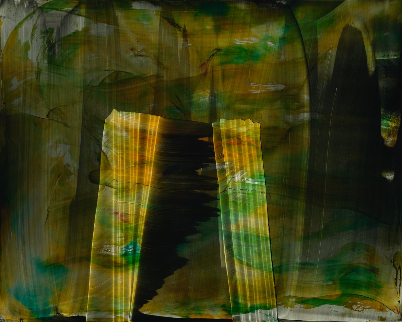 "Temple, 2014, oil on panel, 16"" x 20"""
