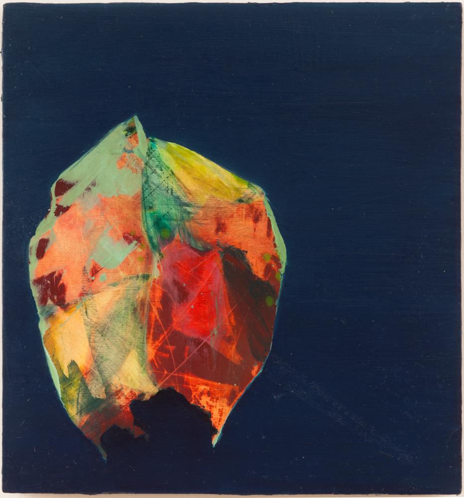 """Fairy Money, 2012, oil on panel, 6"""" x 5-5/8"""""""
