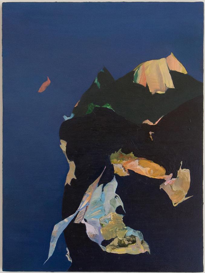 """The Beginning of Sleep, 2012, oil on panel, 12"""" x 9"""""""