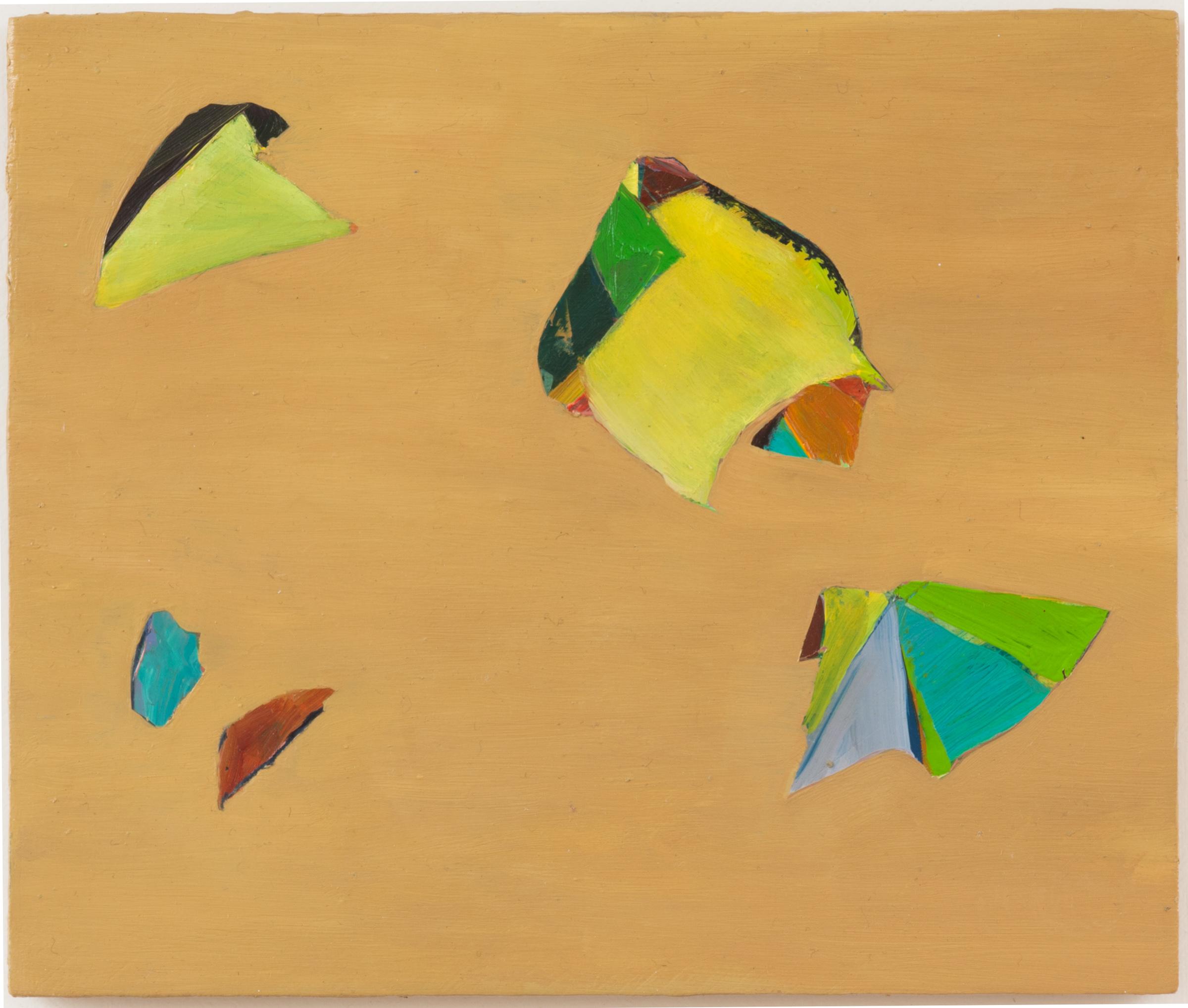 "Secrets, 2012, oil on panel, 6-3/4"" x 8"""