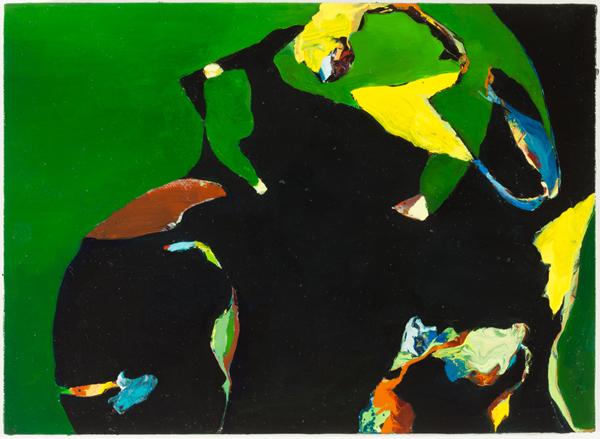 """Waltz, 2012, oil on panel, 8"""" x 11"""""""