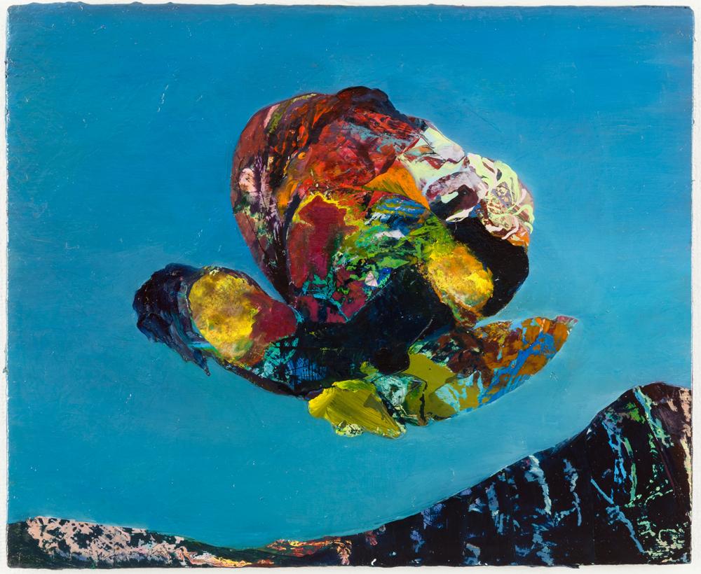 """Fancy, 2011, oil on panel, 9"""" x 11"""""""