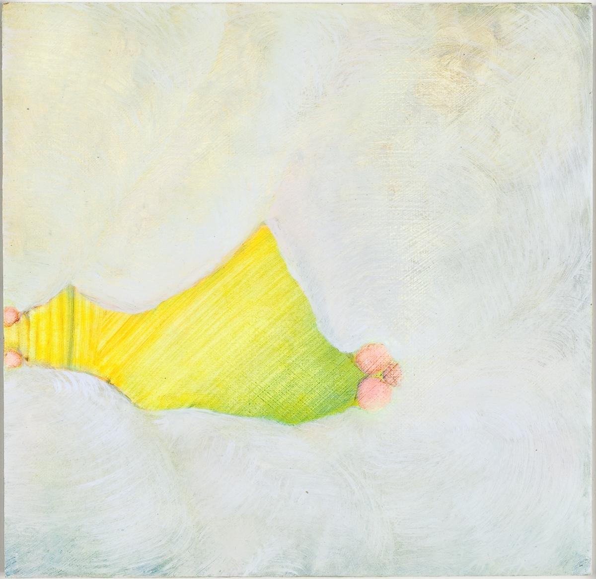 "Lullaby II, 2009, oil on panel, 7"" x 7"""