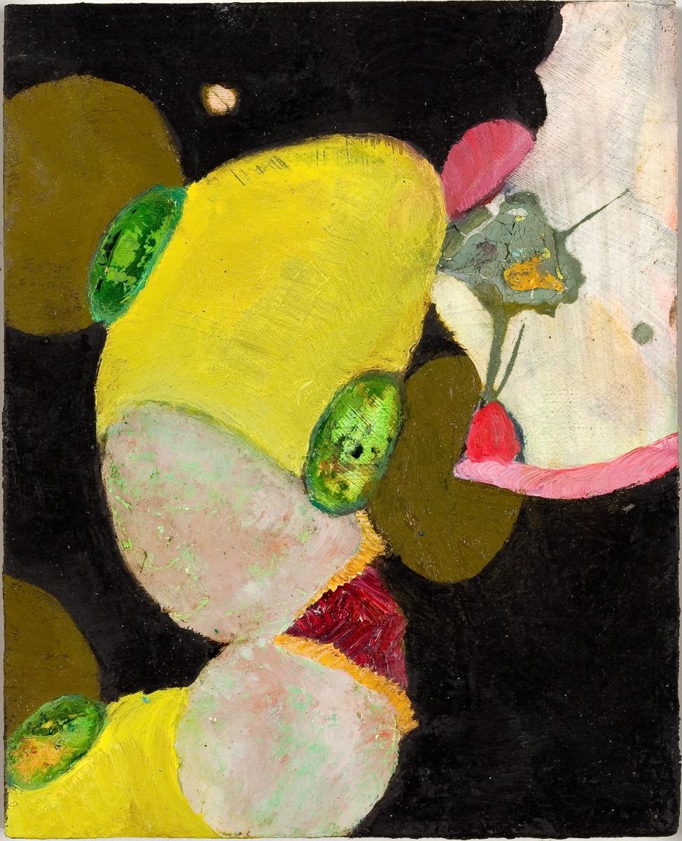 "Jewels, 2009, oil on panel, 5"" x 4"""