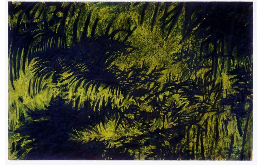 "Crow Jane, 2005, acrylic on canvas, 82"" x 126"""