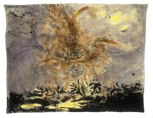 """Untitled (1), 2004, acrylic an canvas, 60"""" x 76"""""""