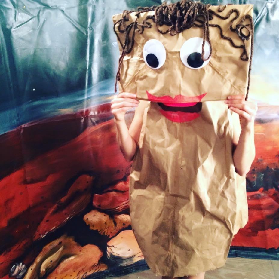 2015 Paper Bag Puppet
