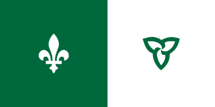 The Franco-Ontarian Flag