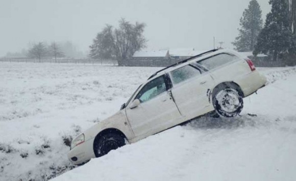 """""""Look at me, I can do 200 in the snow!�"""