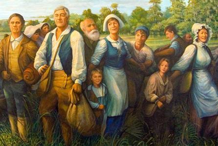 Acadian Settlers.
