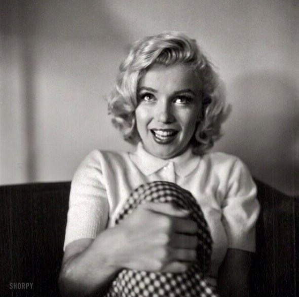 3) My all-time favourite photo of  Norma Jeane Mortenson.