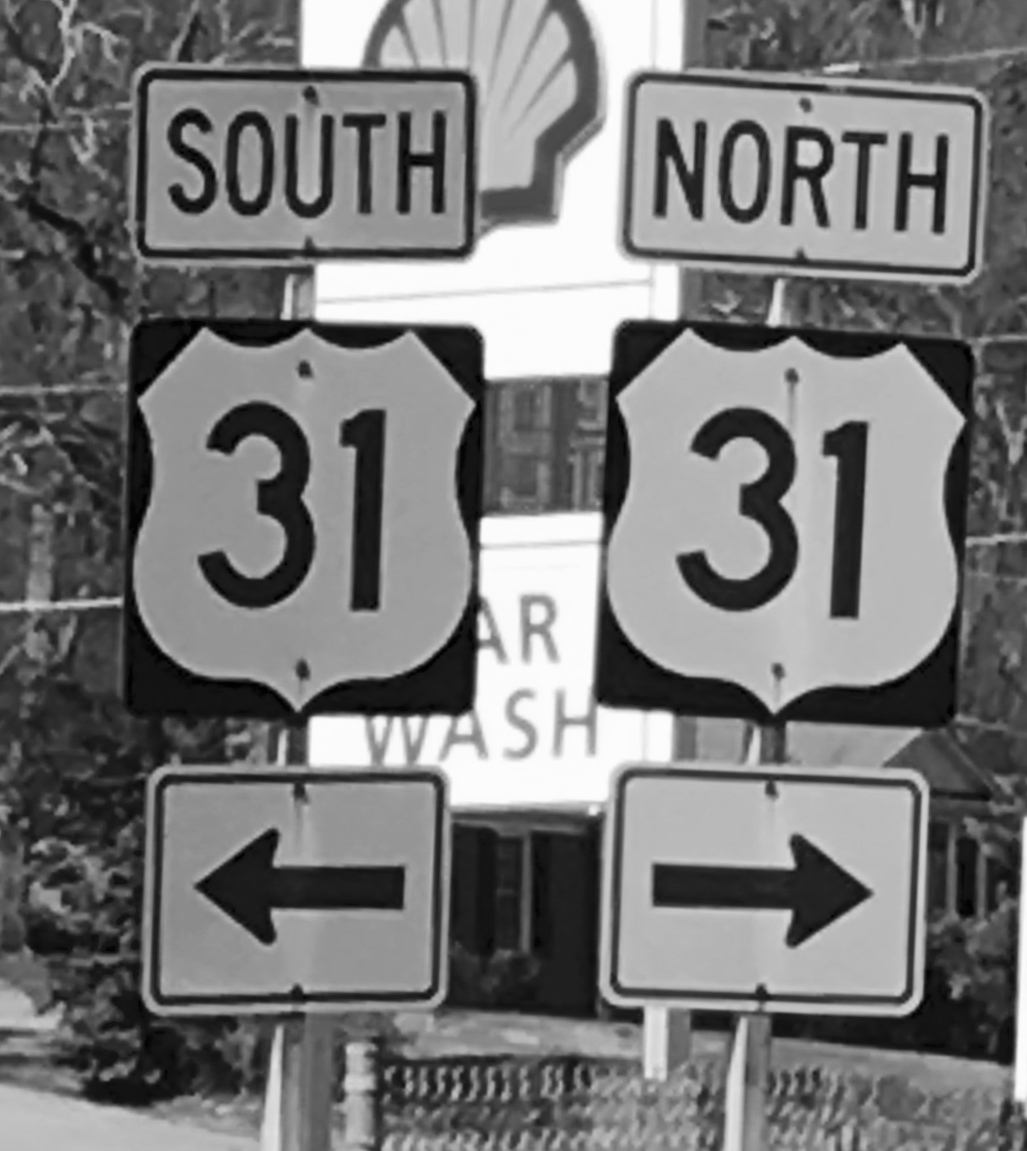 "10) Roadsigns near Johnny Reid's home in Franklin, Tennessee, as we were recording a new album celebrating the fact that it had been 31 years since our first album. ""Hmmmmm, what should we call it?"""