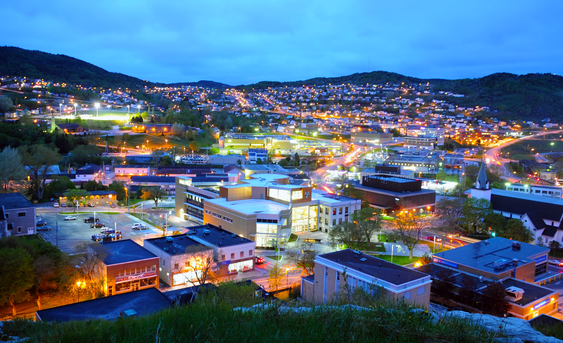 Colourful Corner Brook.
