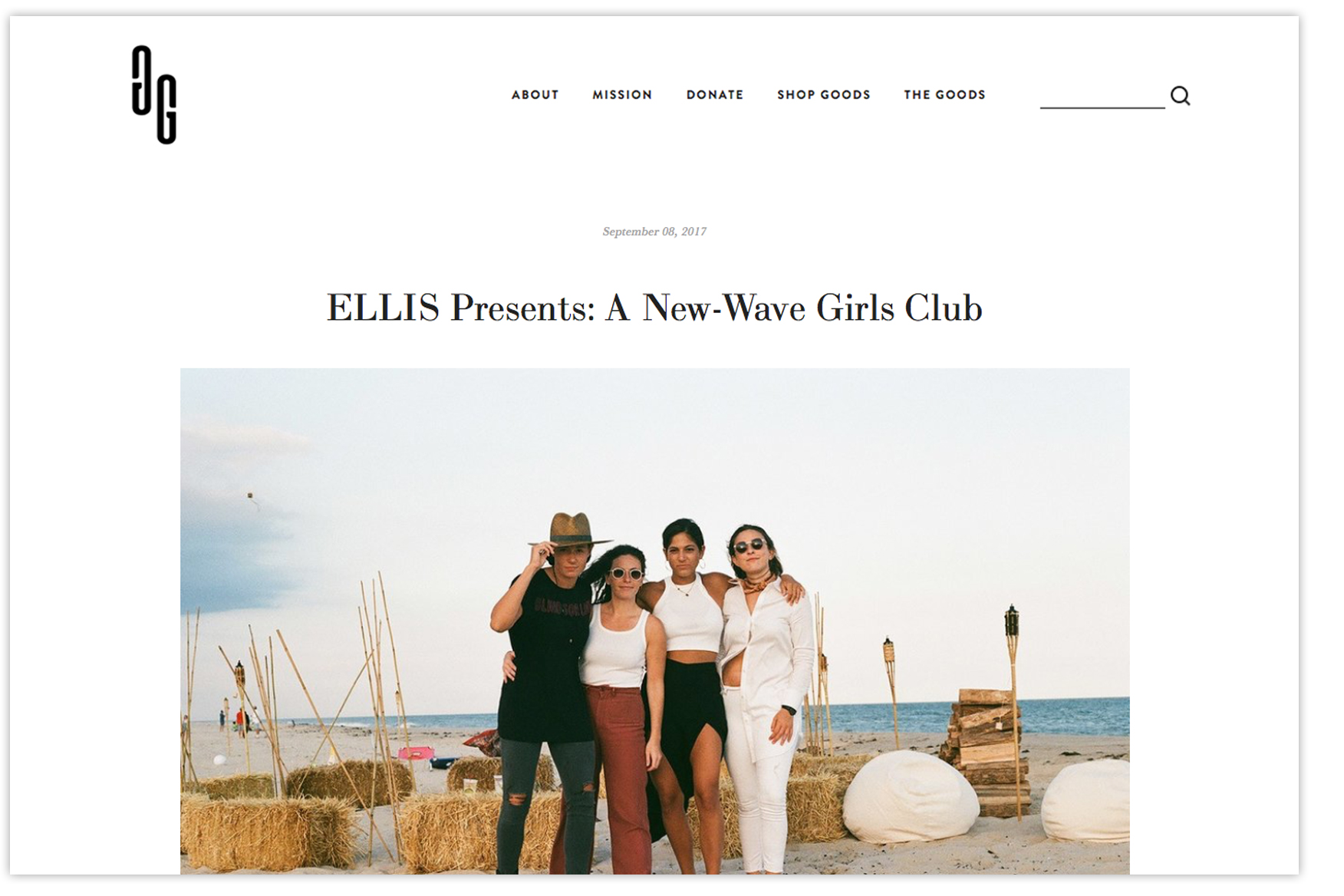 Ellis presents Good for Girls magazine The New Nightlife community for Women.jpg