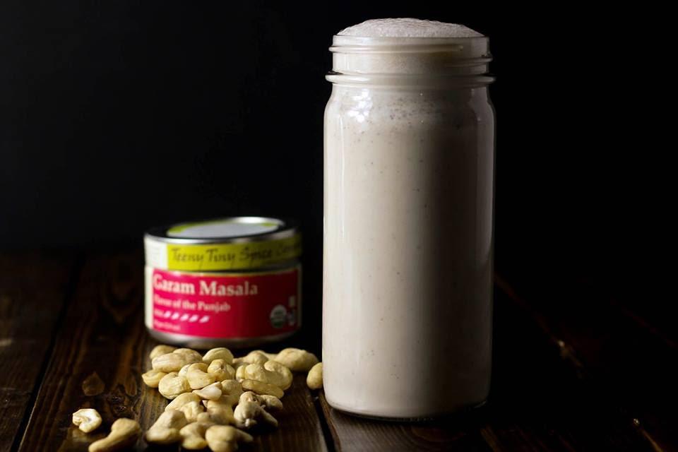 Spiced Cashew Milk