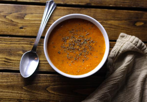Creamy Spiced Tomato Soup