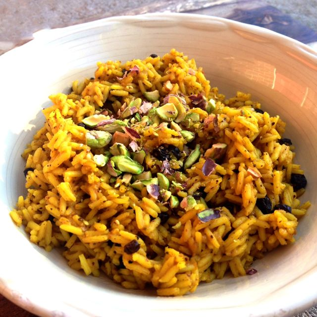 Moroccan Rice with Currants