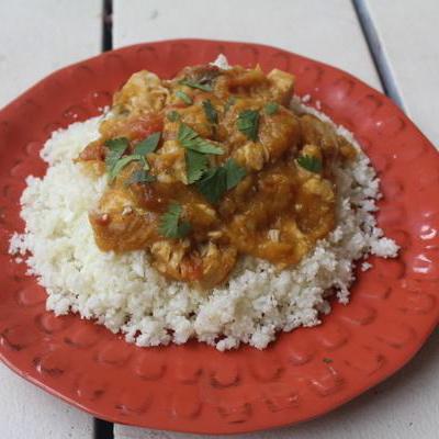Mango Harissa Stewed Chicken