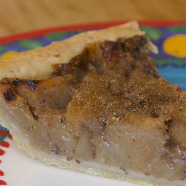 Garam Masala Apple Pie