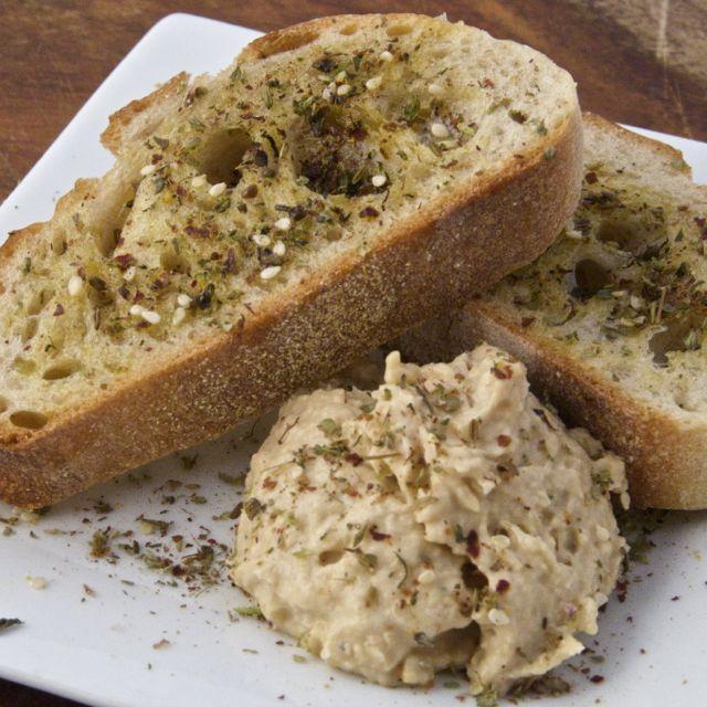 Za'atar Spiced Creamy Hummus