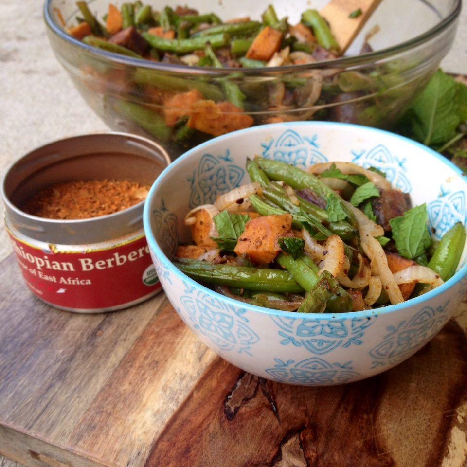 Mint Berbere Salad