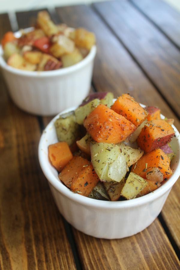 Apple Potato Hash, 2 Ways