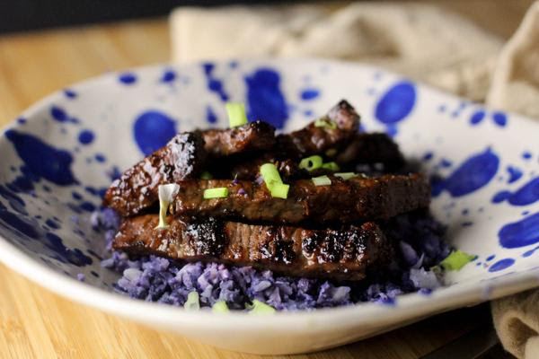 Chinese Five Spice Steak Strips