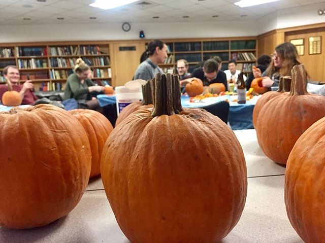 Who said NGG only does awesome science? We also carve some mean pumpkins. 🎃 #fallfun