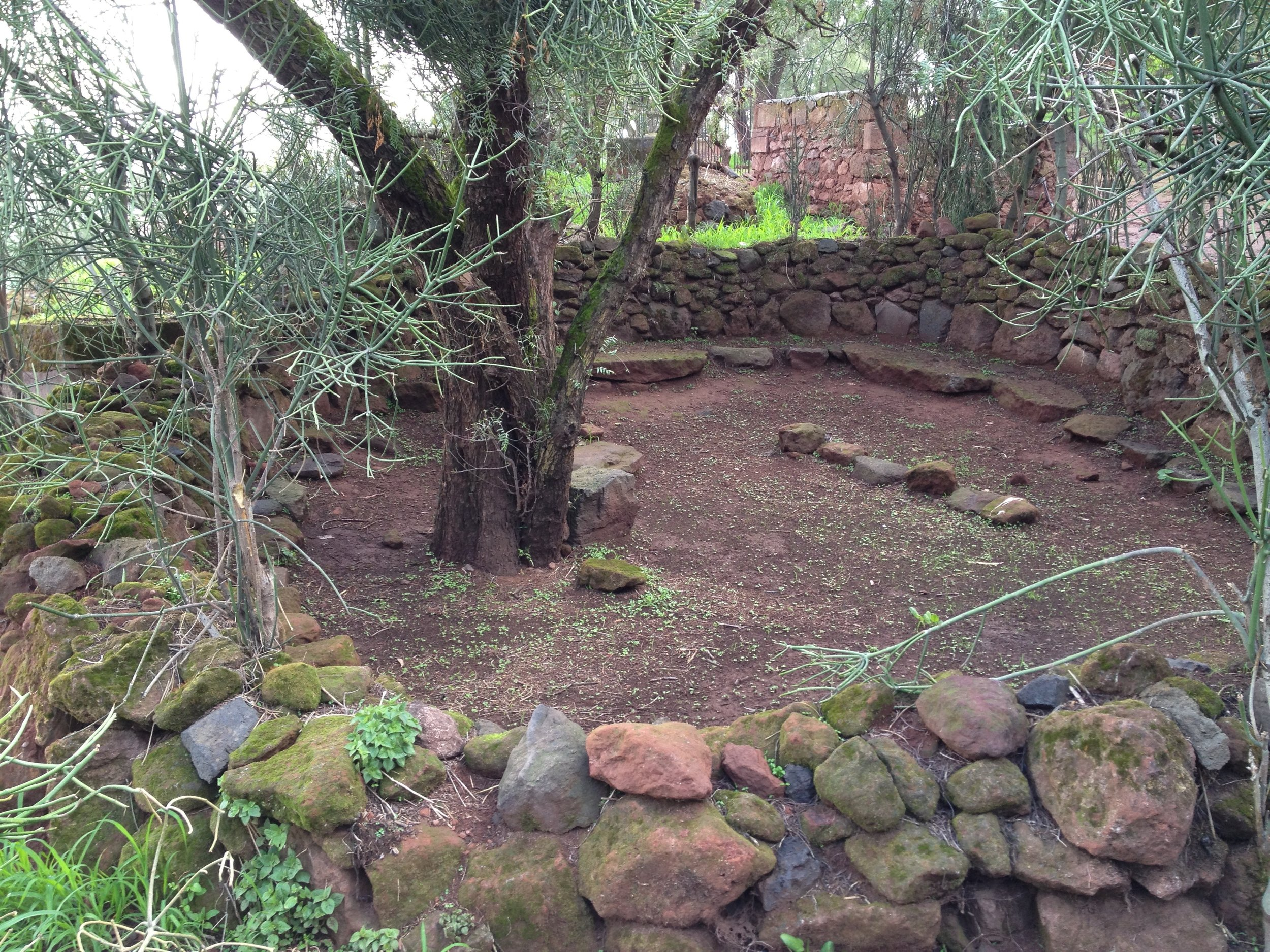 Ancient Village Meeting Place, Lalibela, Ethiopia