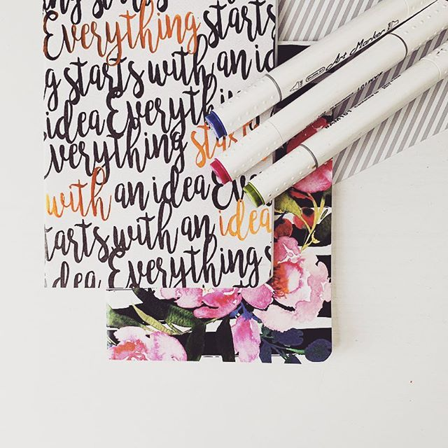 Everything starts with an idea ... #idea #newstart #blogger #abmlifeisbeautiful #creative #springisinspiring #inspired #artjournal #planning