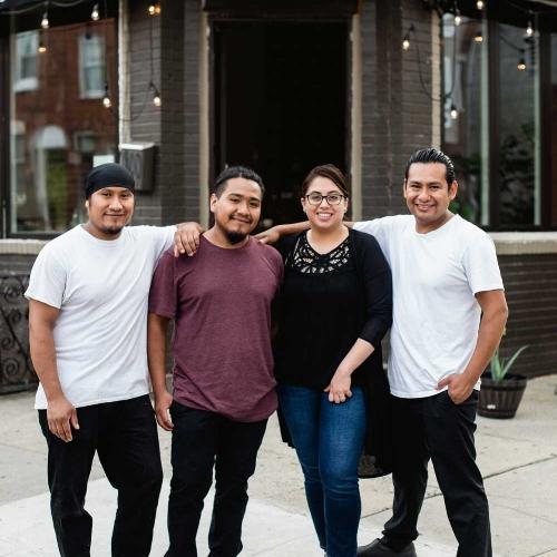 Creme Brulee owners -Armando Tapia & Family