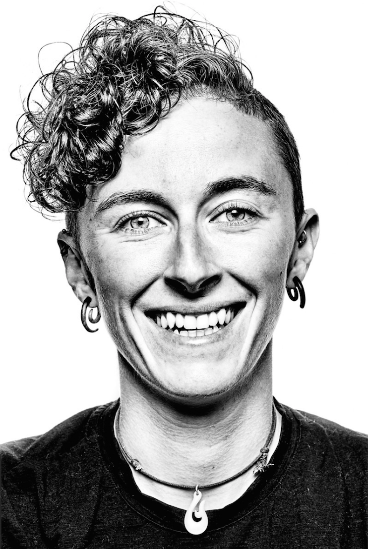 Elyse Rylander - Founder and Executive Director of OUT There Adventures,Co-organizer of 2017 LGBTQ Outdoor SummitPronouns: She/HerElyse holds a B.A. in Communication Arts, Gender Studies, and LGBT Studies from the University of Wisconsin. She is also a Master of Arts in Adventure Education candidate at Prescott College. Elyse has been an outdoor educator and guide since 2006,is an American Canoe Association Sea Kayaking Instructor, Wilderness First Responder, and has training in motivational interviewing,trauma informed care, behavior management and de-escalation, and positive youth development. Elyse is also known for her unwavering work ethic and passionate defenses of the Green Bay Packers and Wisconsin cheddar.