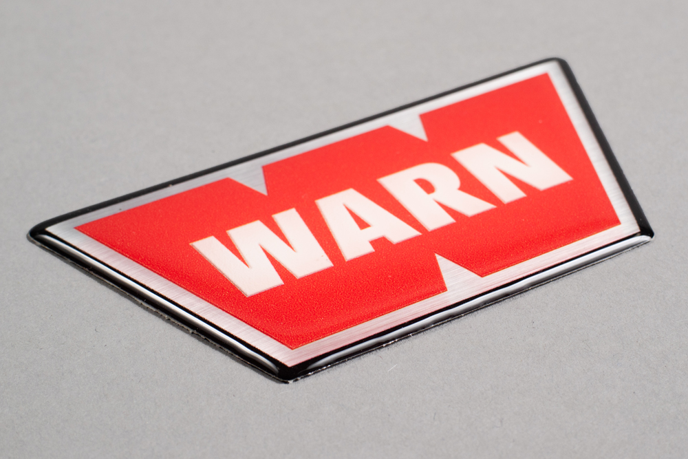 Dome Label for WARN