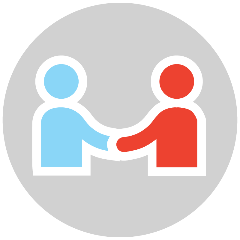 PARTNER WITH PEOPLE -