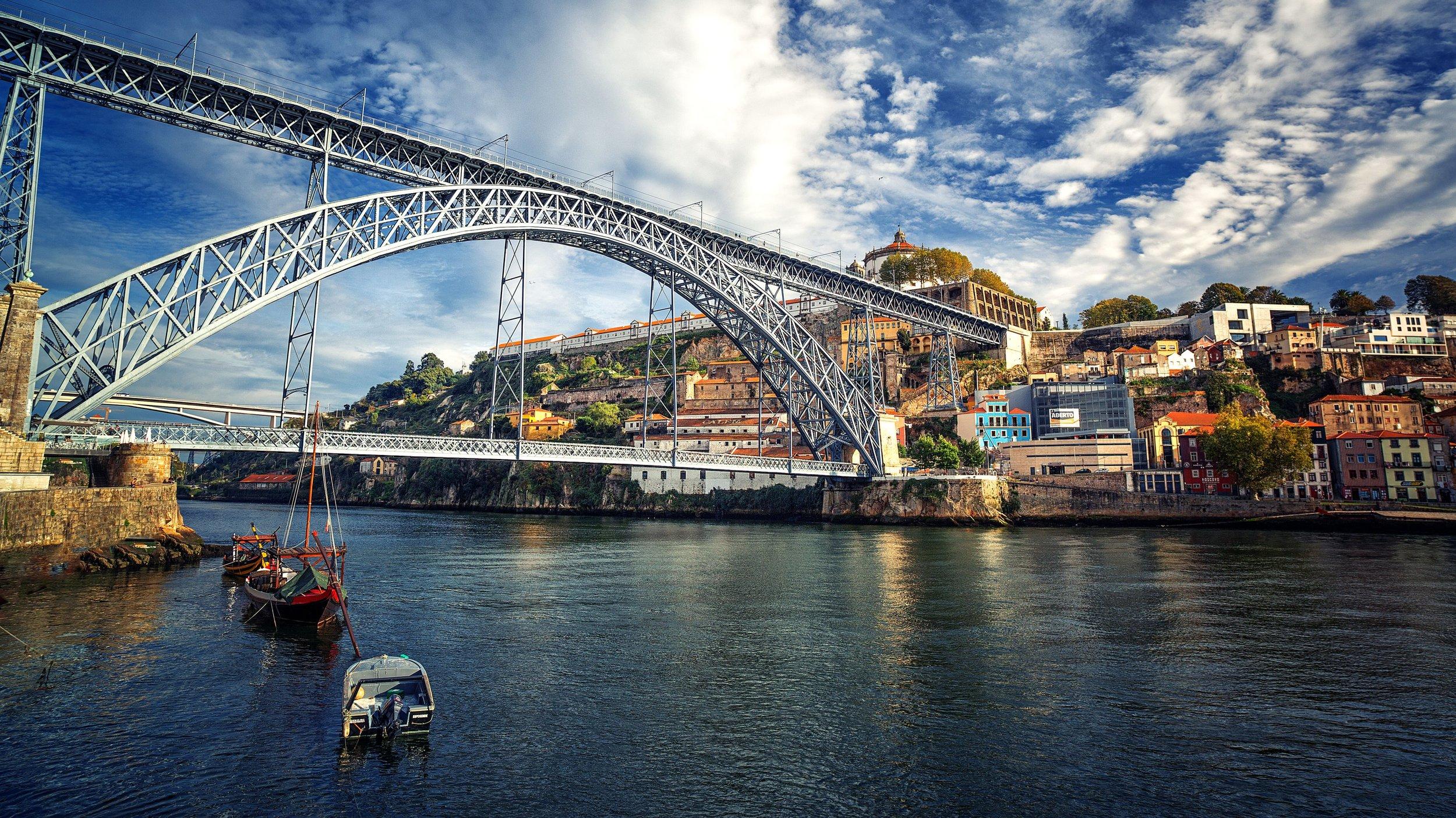 Passeios na Zona Turística de Porto e Vila Nova de Gaia - Cruzeiro de 1 hora (
