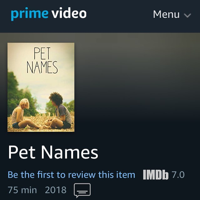 IN CASE you didn't hear on @petnamesmovie , the film is going to be available for your streaming pleasure on February 1st!  So excited to have you all finally see it! . . . . . . #petnamesmovie #amazonprime #sxsw