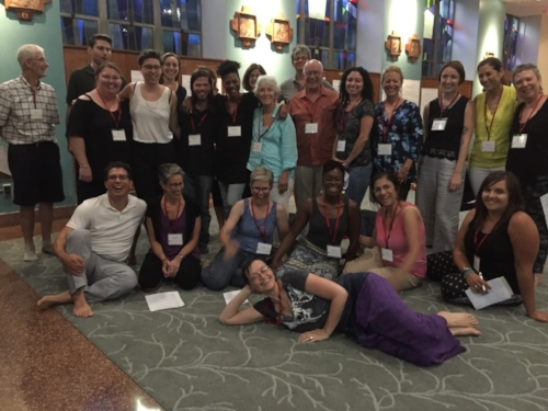 Copper Beech teachers, staff and guests recently gathered for a retreat on diversity and inclusion with Master Teacher Leslie Booker.